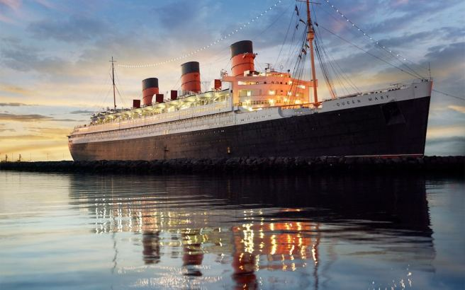 The Queen Mary ocean liner Credit: V&A