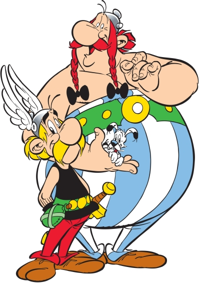 Asterix, Obelix and Dogmatix created by René Goscinny © 2018 LES EDITIONS ALBERT RENE/GOSCINNY-UDERZO