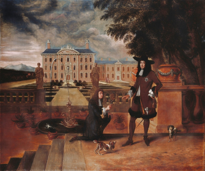 John Rose (1619–1677), the Royal Gardener, presenting a Pineapple to King Charles II (1630–1685) Henry Danckerts Royal Collection Trust / © Her Majesty Queen Elizabeth II