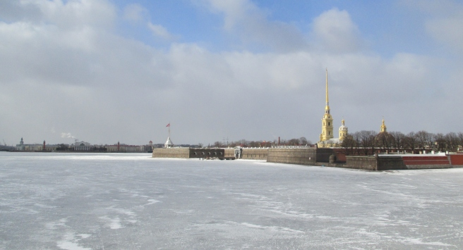 River Neva and St'speter and Paul's Fortress, St Petersburg. 2018 © Paola Cacciari