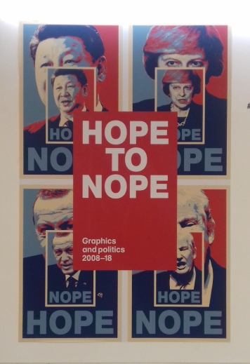 Hope to Nope, Design Museum. London 2018 © Paola Cacciari