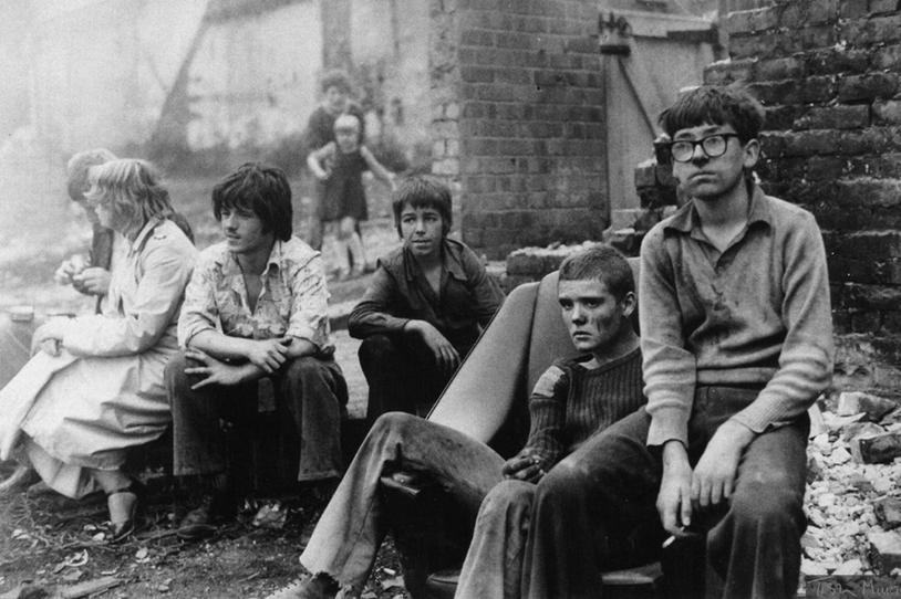 Youth Unemployment (1981) - Photograph: Tish Murtha/© Ella Murtha, All rights reserved.© Ella Murtha