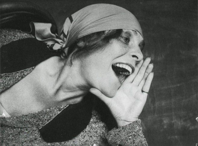 Alexander Rodchenko. Liliya Brick, 1924