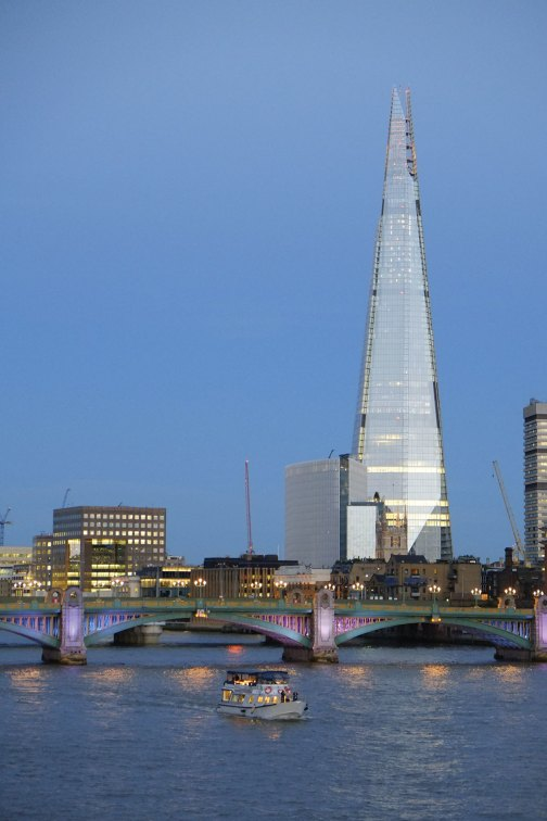 Renzo Piano Building Workshop, The Shard, London Bridge Tower and London Bridge Place, London, 2012.