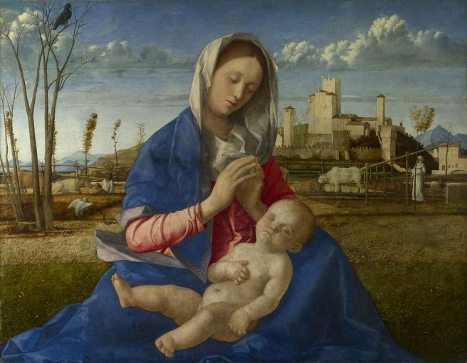 Madonna of the Meadow about 1500 Giovanni Bellini