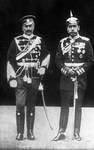 Kaiser Wilhem e Nicola II