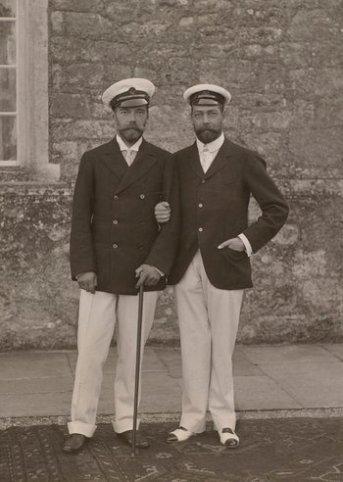 Nicola II e Giorgio V