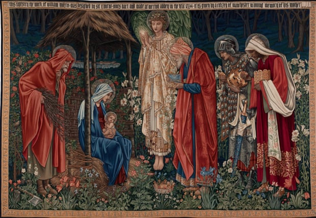 Tapestry Adoration of the Magi. Photograph: Edward Burne-Jones/private collection