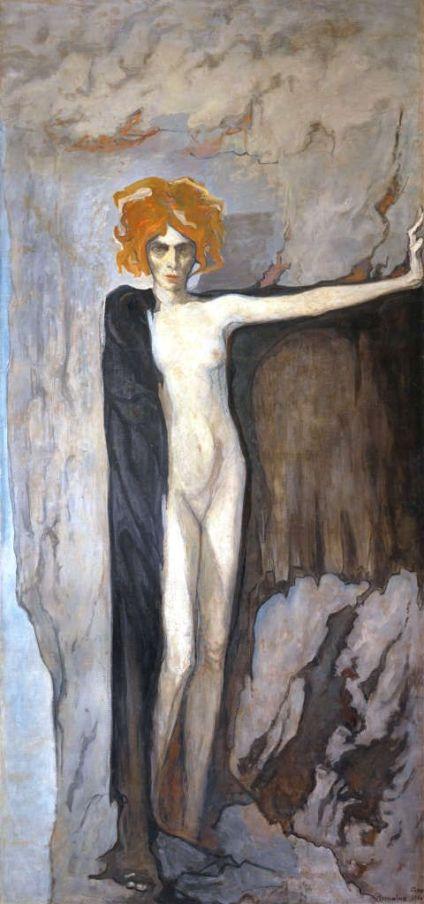 Romaine Brooks, Luisa Casati, 1920