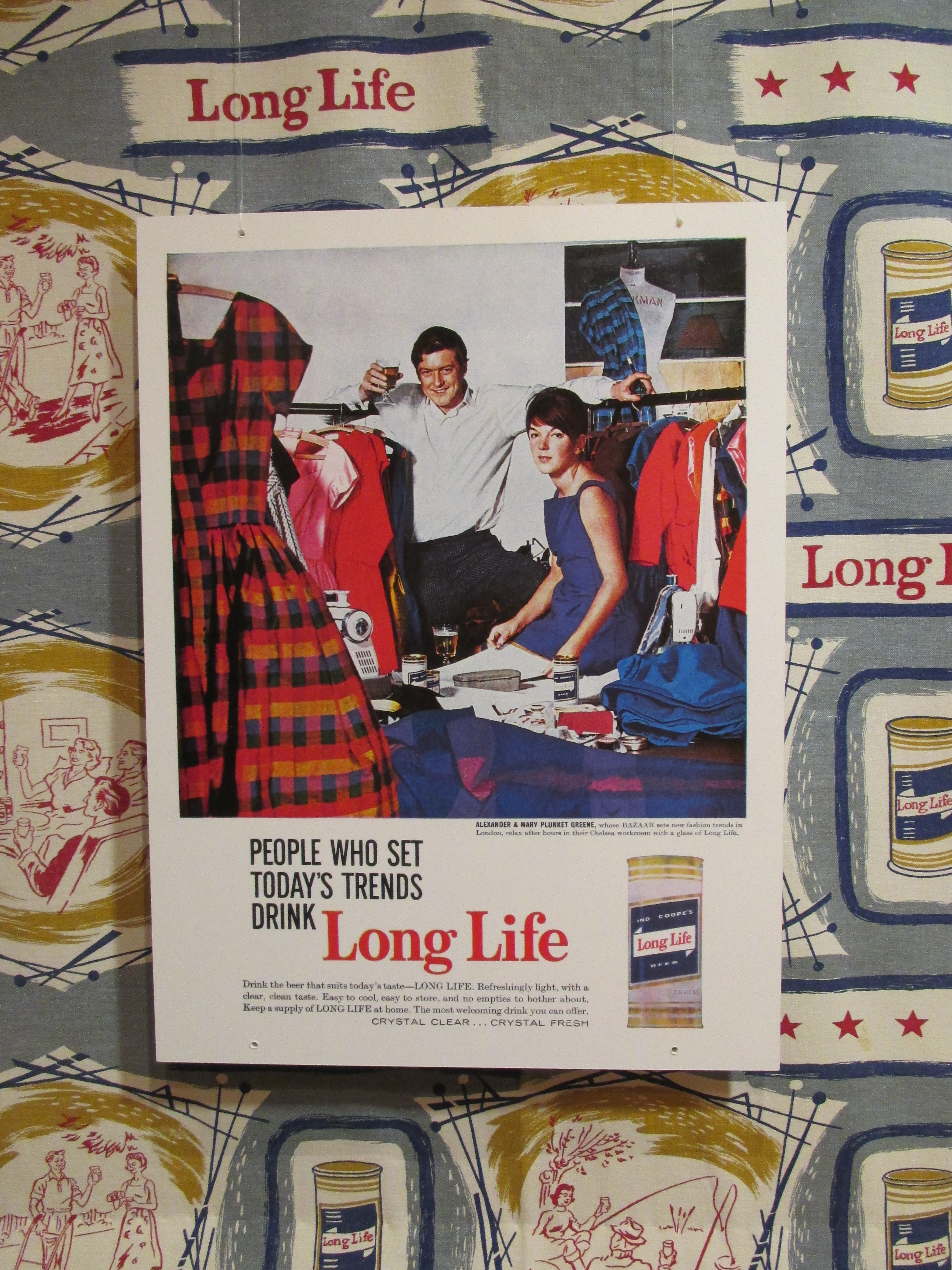 Mary Quant and Terence Conran. Swinging London: A Lifestyle Revolution. Fashion and Textile Museum , London 2019 © Paola Cacciari