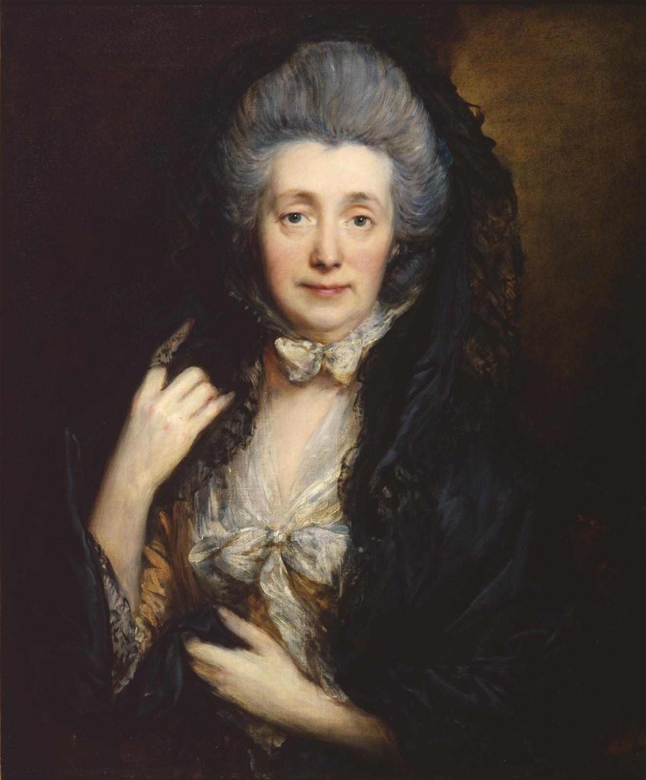 Thomas Gainsborough(1727-1788), Portrait of Mrs Gainsborough, 1778 (circa), The Samuel Courtauld Trust, The Courtauld Gallery, London