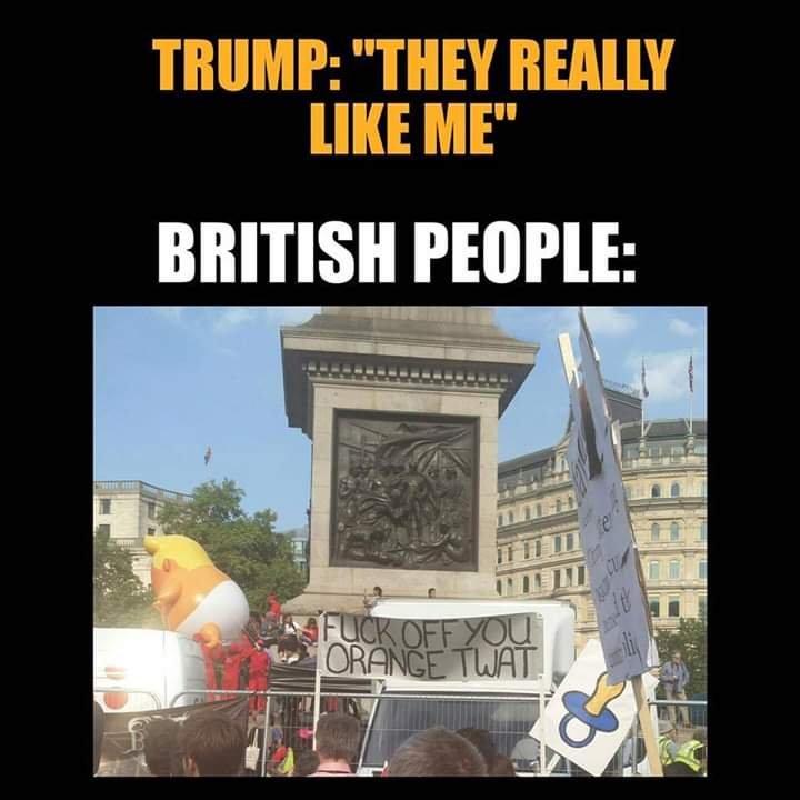 Trafalgar Square, London June 2019