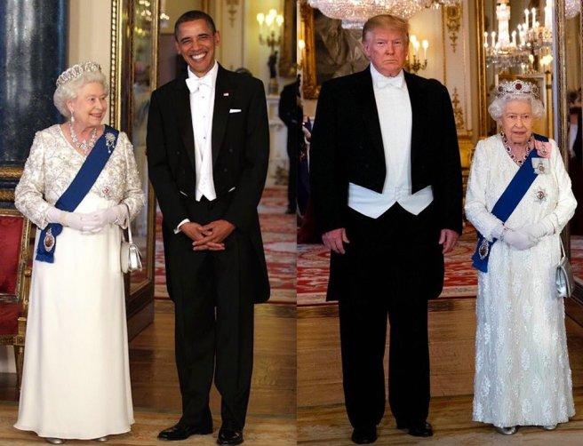 Obama visit vs Trump visit