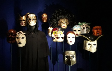 Costumes for Eye Wide Shut.Stanley Kubrick The Exhibition, Design Museum. London 2019 © Paola Cacciari