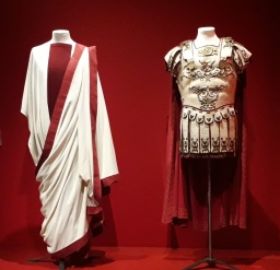 Costumes for Spartacus. Stanley Kubrick The Exhibition, Design Museum. London 2019 © Paola Cacciari Spartacus