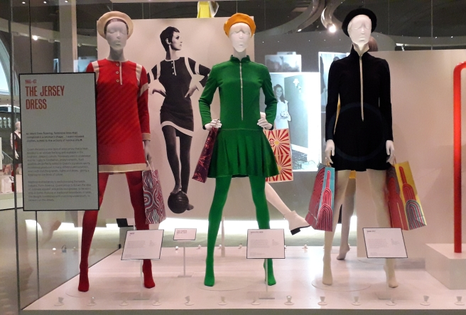 Mary Quant exhibition, Victoria and Albert Museum, London. 2019 © Paola Cacciari