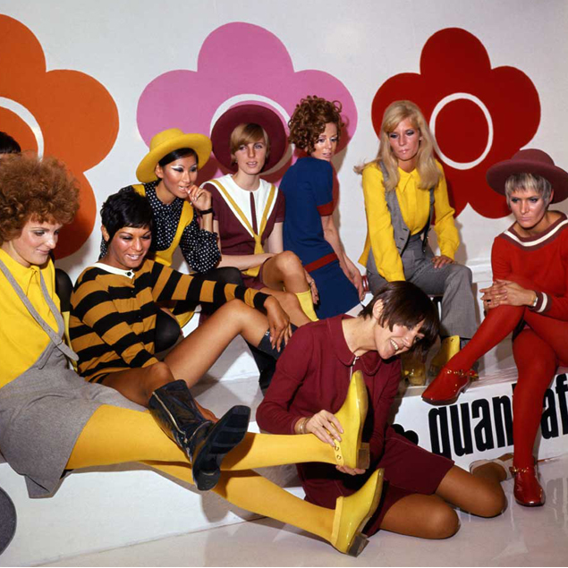 Mary Quant exhibition, Victoria and Albert Museum, London.