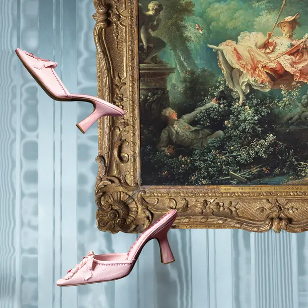 Screenshot_2019-08-27 Exhibition pairs Manolo Blahnik shoes with the paintings that inspired them