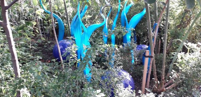 Chihuli at Kew Gardens. London, 2019 ©Paola Cacciari