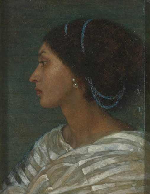 Fanny Eaton by Joanna Boyce Wells, 1861. Yale Center for British Art, Paul Mellon Fund