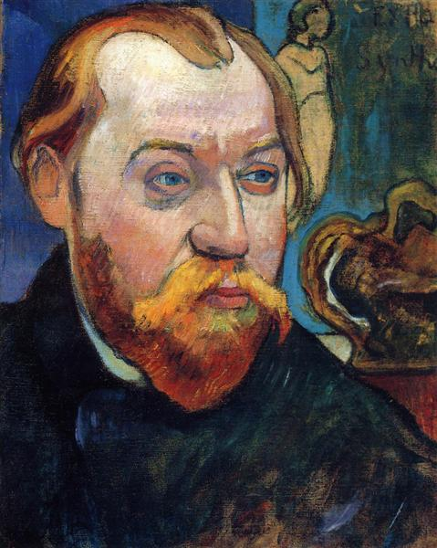 Paul Gauguin, portrait of Louis Roy, 1893. Private collection
