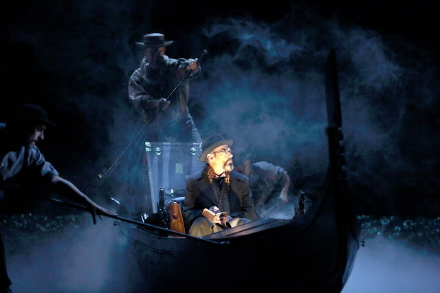 Britten: Death in Venice - Gerald Finley, Mark Padmore   Royal Opera ((c) ROH 2019 photographed by Catherine Ashmore)