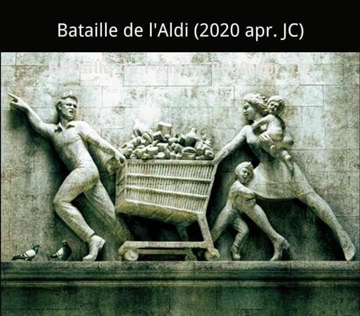 Bataille de l'Aldi (Aprile 2020 D.C.)