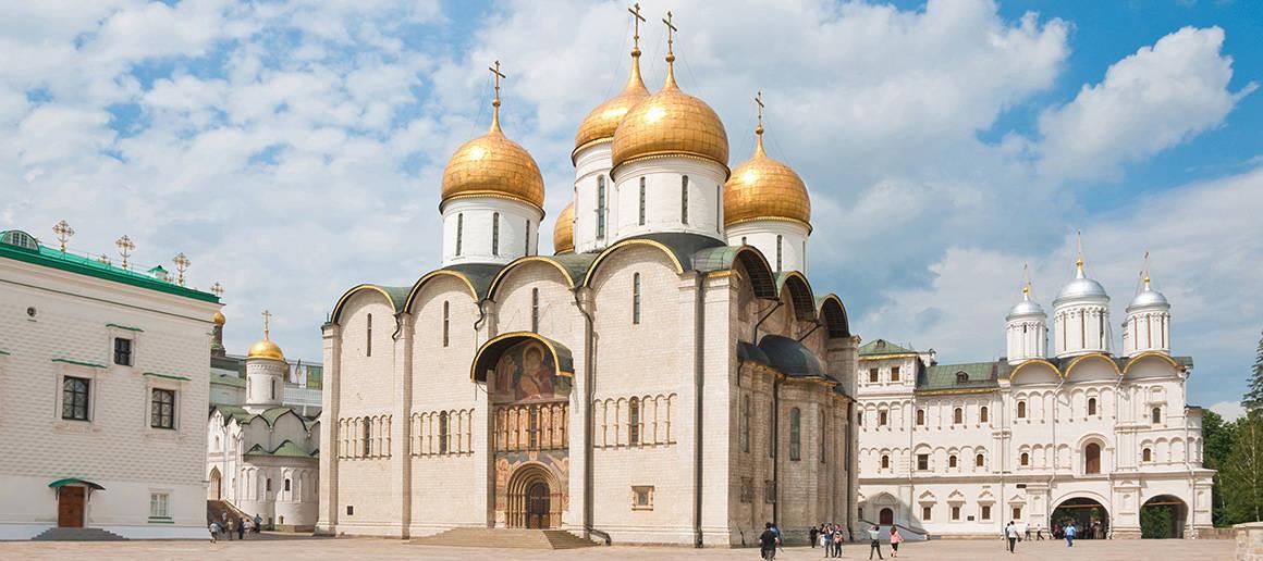 La Cattedrale della Dormizione di Mosca progettata da Aristotele Fioravanti